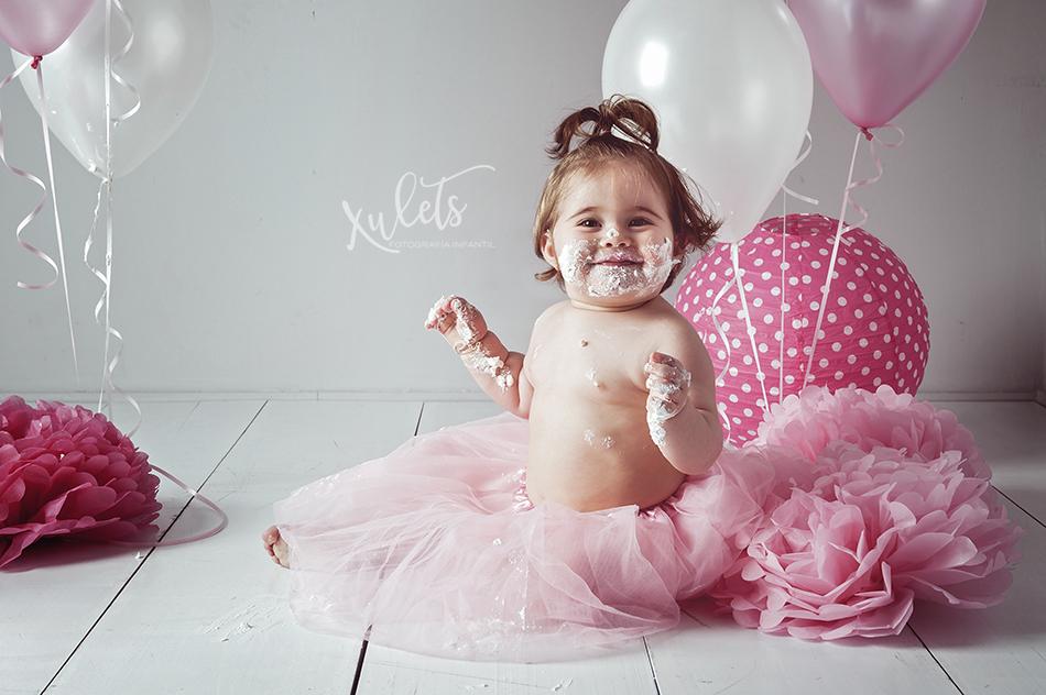 Xulets - Fotografía Infantil - Sesiones Smash Cake